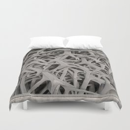 REMNANTS OF MATING SEASON Duvet Cover