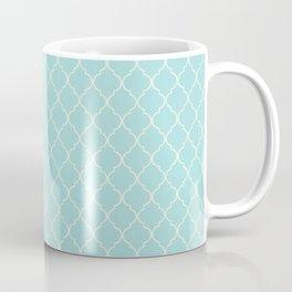 Quatrefoil Sea Kiss Coffee Mug