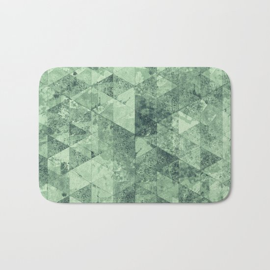 Abstract Geometric Background #12 Bath Mat
