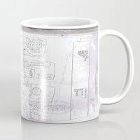 teacher Mugs featuring Angry Teacher by Clinton Morgan Artworks