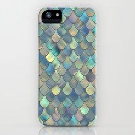 Mermaid Sea Shell Iridescent iPhone Case