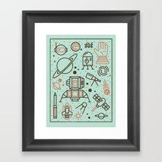 Cosmic Frontier  Framed Art Print