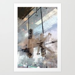 Pressurized Art Print