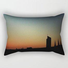 Rainbow Hotel Rectangular Pillow