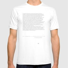 the Tawantinsuyana Collective. White MEDIUM Mens Fitted Tee