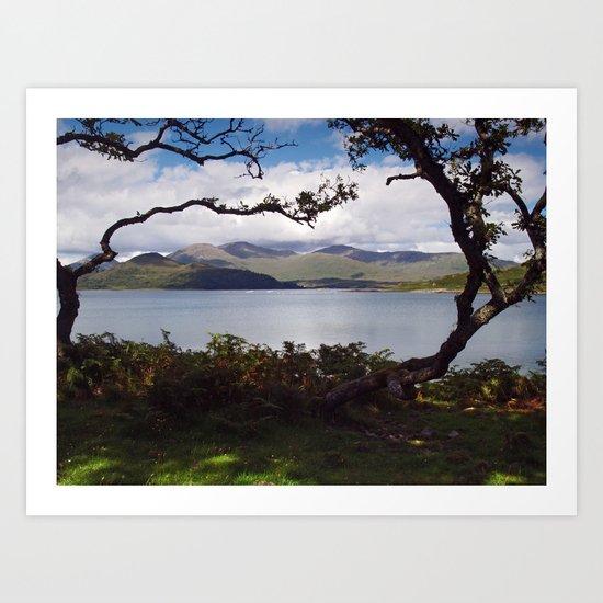 Loch Spelve Art Print