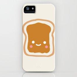peanut butter sandwich iPhone Case