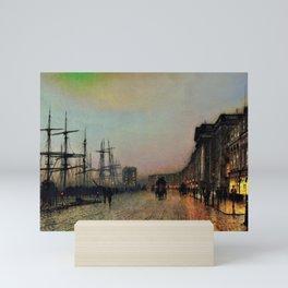 12,000pixel-500dpi - John Atkinson Grimshawn - Canny Glasgow - Digital Remastered Edition Mini Art Print