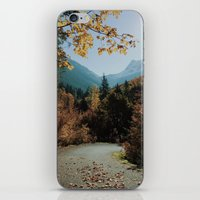 washington iPhone & iPod Skins featuring Washington Fall Rd by Kevin Russ