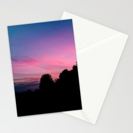 just missed golden hour Stationery Cards