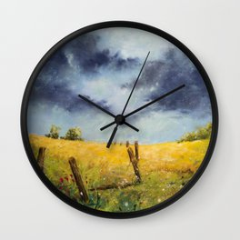 A Stormy Sky Wall Clock