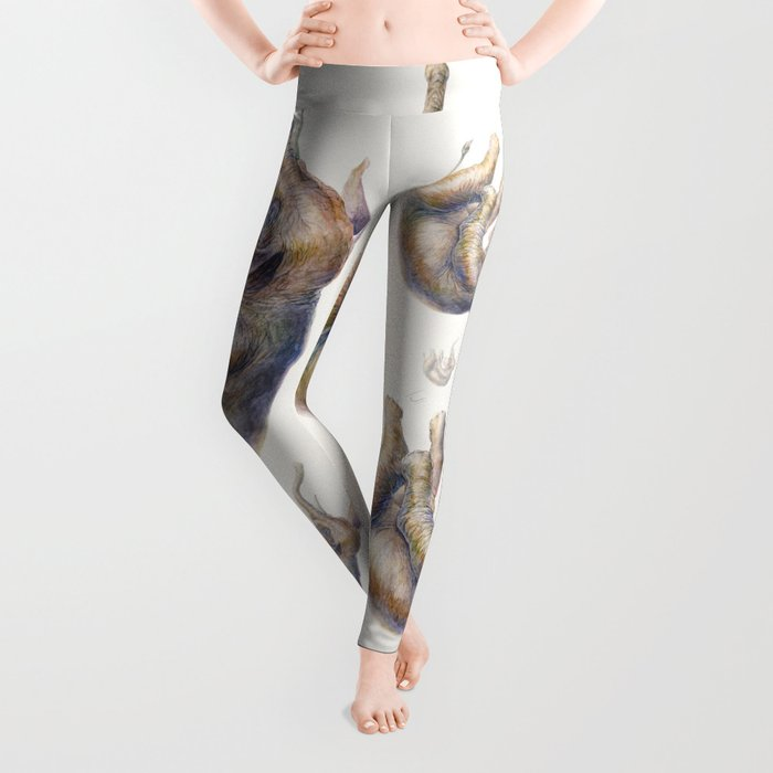 Falling Elephant Leggings