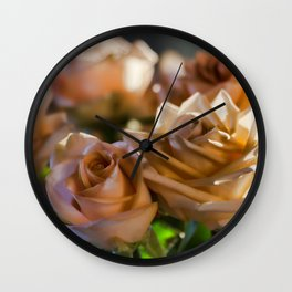 Rose Glow Wall Clock