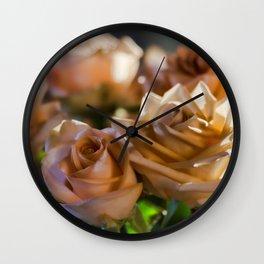 Rose Glow Wall Clock