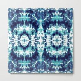 Celestial Nouveau Tie-Dye Metal Print