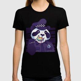 Giant Panda Bear Police Officer T-shirt