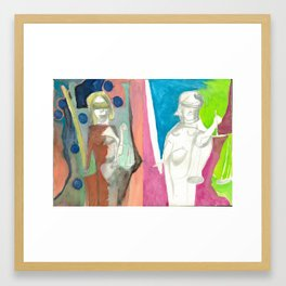 Justicia Framed Art Print