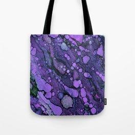 Purple River Tote Bag
