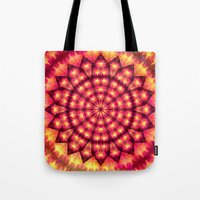 hippie Tote Bags featuring Hippie Star by NatalieCatLee