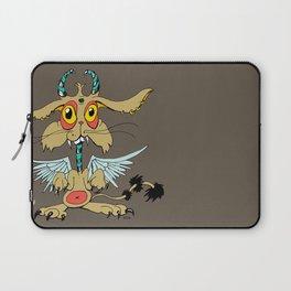 Evil Flying Feline Jackalope  Laptop Sleeve