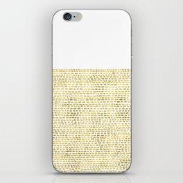 Riverside Gold iPhone Skin