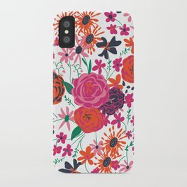blooming love iPhone Case
