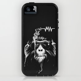Music And Cigs iPhone Case
