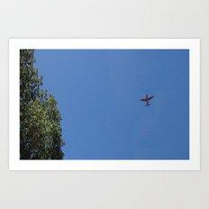 Airplane C130h Art Print