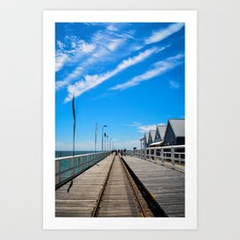 Busselton Jetty Art Print