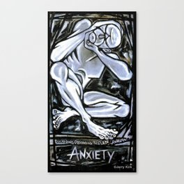 'Anxiety' Canvas Print