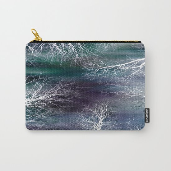 Midnight Purple Teal Carry-All Pouch