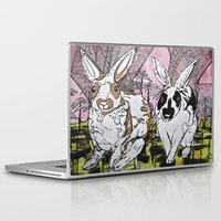 bunny Laptop & iPad Skins featuring Bunny by Dawn Patel Art