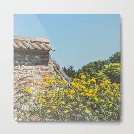 English Walled Garden High Summer Metal Print