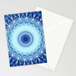 Mandala Iceblue Stationery Cards