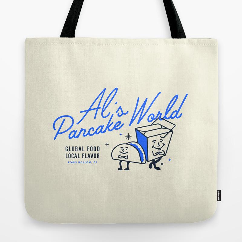 Al S Pancake World Tote Bag By Amcdaris