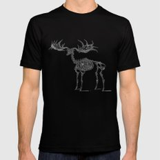 Dead Moose Mens Fitted Tee X-LARGE Black