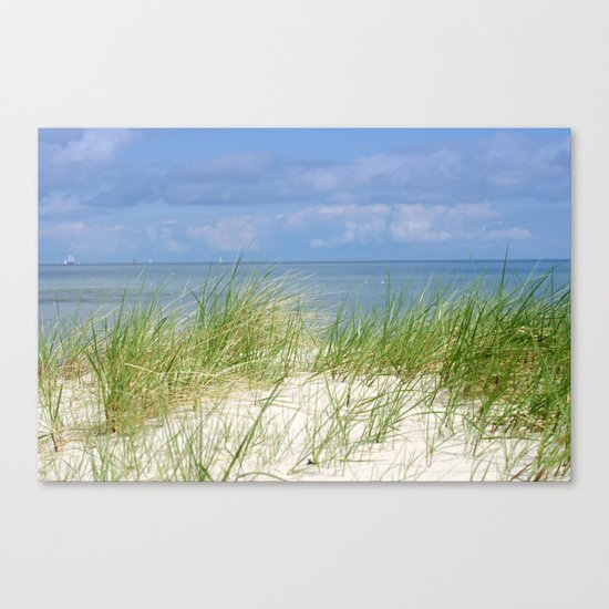Dunes of the Baltic Sea Canvas Print