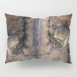 Middle Finger granite quarry reflection Pillow Sham