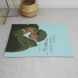 Dearest loveliest Elizabeth_Pride and Prejudice quote. Rug