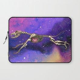 Cosmic dog skeleton Laptop Sleeve