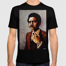 RICHARD PRYOR Black X-LARGE Mens Fitted Tee