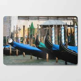Venetian Gondolas Cutting Board