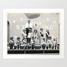 Little Miss Sterling Art Print