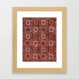 Azeri Zili Karabagh Azerbaijan South Caucasus Flatweave Print Framed Art Print