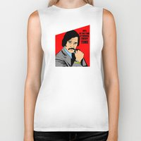 will ferrell Biker Tanks featuring 60% of the time it works, every time - Brian Fantana by Buby87