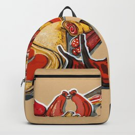 Red meat Backpack