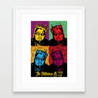 notorious big Framed Art Prints featuring The Notorious BIG by 50mlDesigns