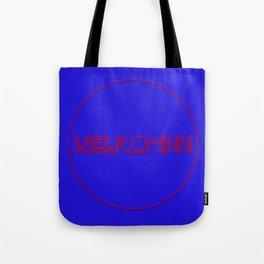 Velkominn Neon Tote Bag