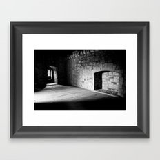 Cold Fireplace Framed Art Print