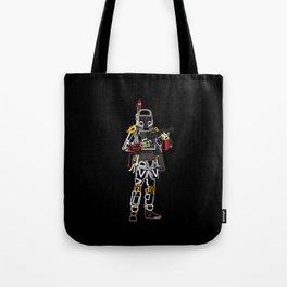 Boba Font Tote Bag